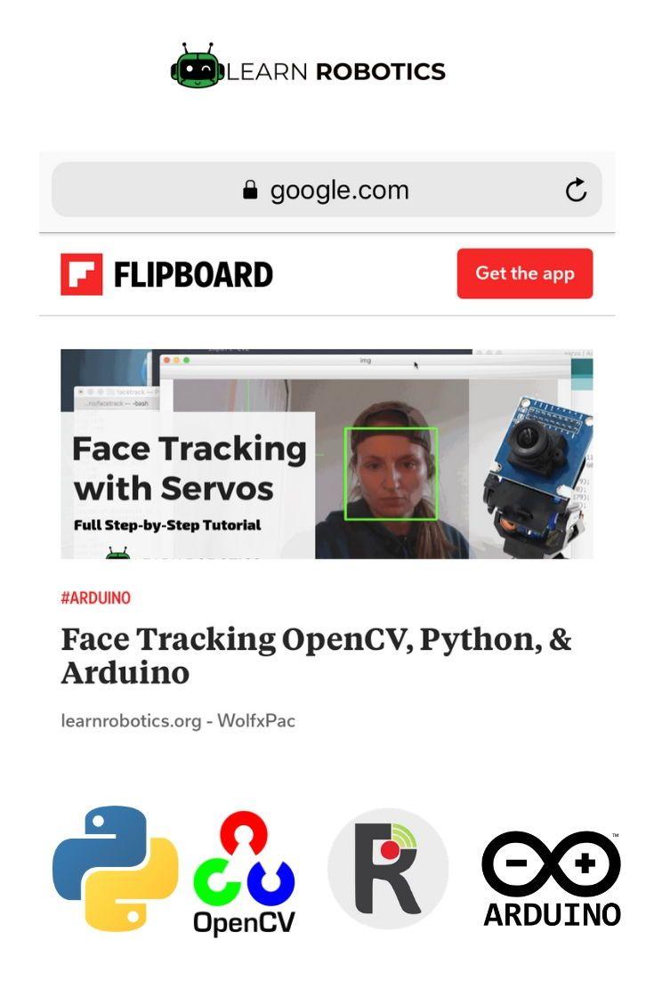 Face Tracking OpenCV, Python, & Arduino | Cool Arduino