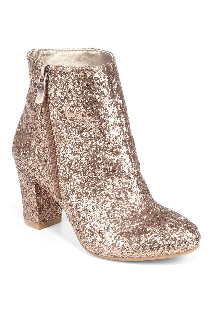 BCBGeneration Charm Boots In Bronze - Beyond the Rack