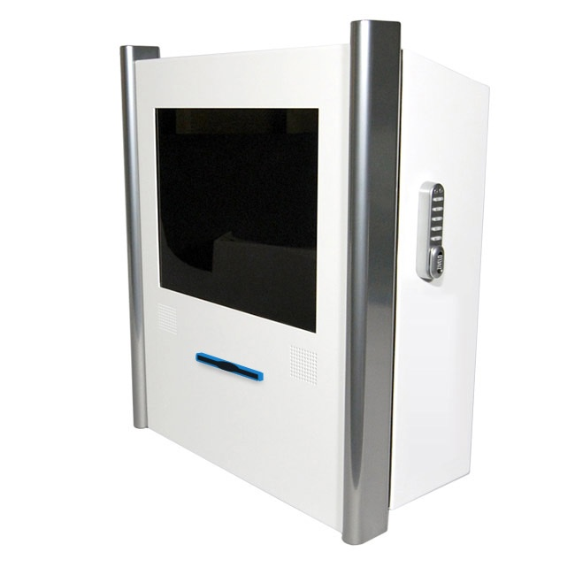 Ticketing Kiosk Z3 - Wall mounted kiosks are often ideal for ticket retrieval, giving you more space to put in small clusters in main thoroughfares. The Z3 has an plenty of depth to allow exceptional space for a varied selection of components.