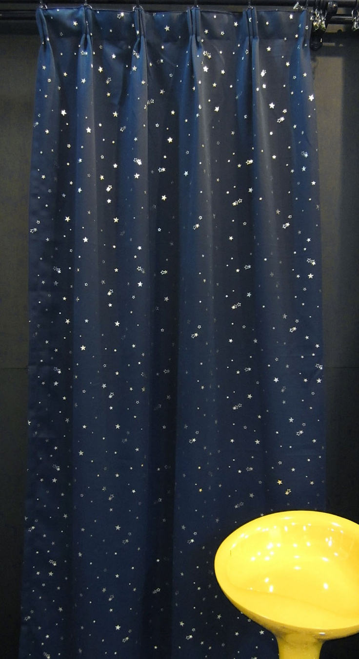 Star curtains for boys room?