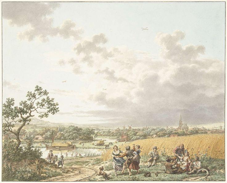 Zomer, middag en lucht, Jacob Cats (1741-1799), 1797