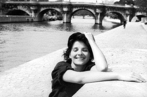 Juliette Binoche photographed by Robert Ddoisneau 1991