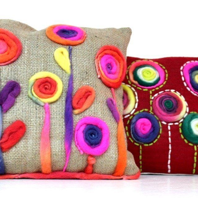 Resultado de imagen para almohadones artesanales