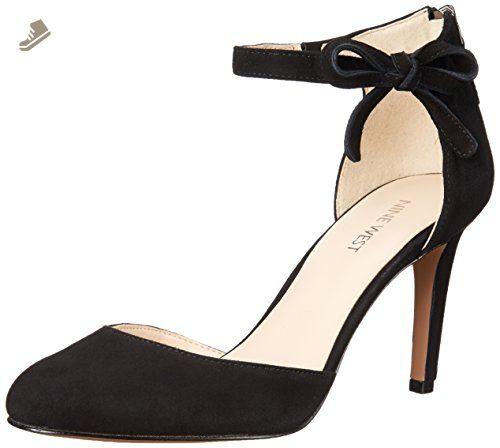 Nine West Women's Howley Suede Dress Pump, Black, 7 M US - Nine west pumps for women (*Amazon Partner-Link)