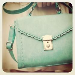 mint bag for spring!