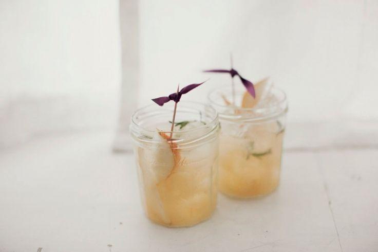 Hendricks Gin & Pear Cocktail