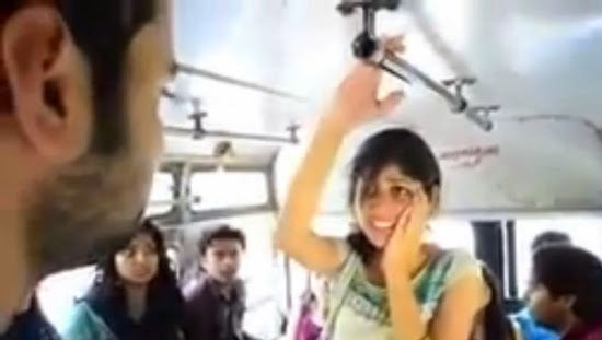 Clever Bulletin: Man slapping a woman on the bus in Pakistan (VIDEO) - @pakistan