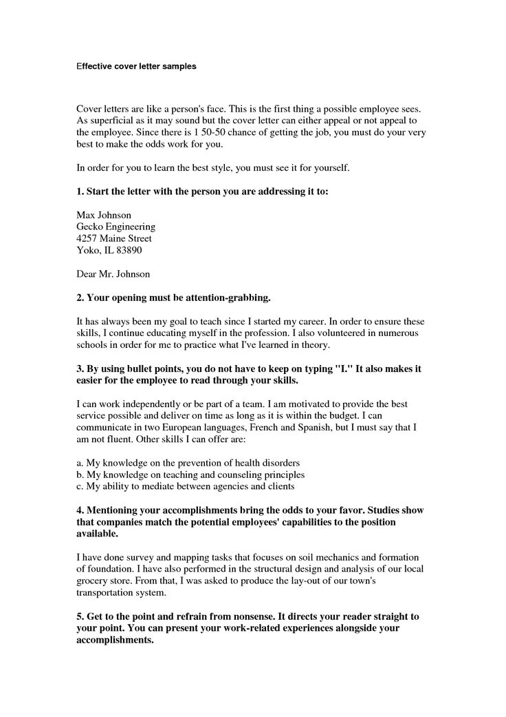 effective cover letter samples best 20 cover letter sample ideas on cover 21447 | b1509fa44bba5eba0d3e87045195f15e