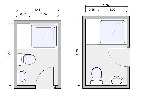 Best 25 small narrow bathroom ideas on pinterest for Small 3 4 bathroom floor plans