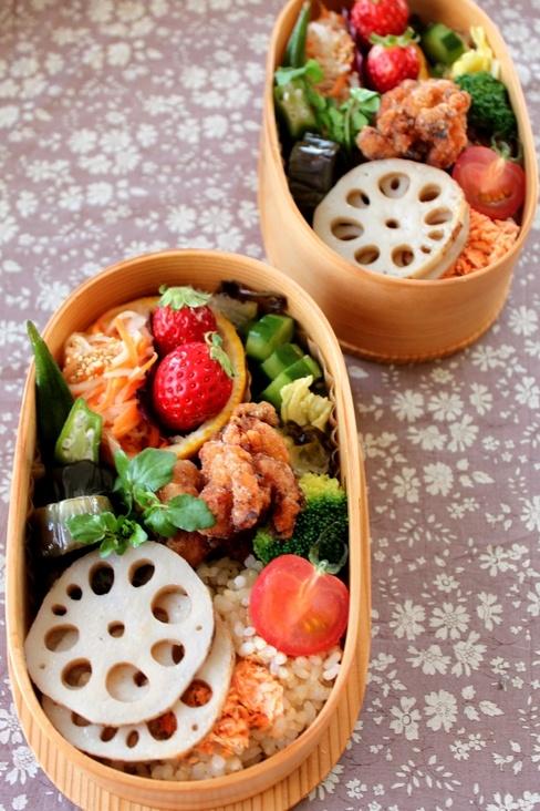 Japanese Traditional Wappa Bento Lunch © mizuking|弁当