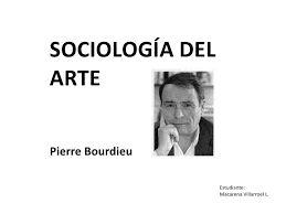 Resultado de imagen para sociologia del arte