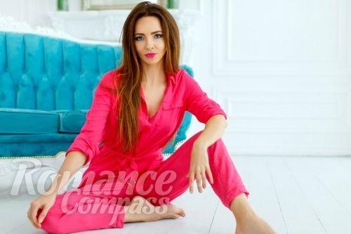 Date Ukraine single girl Nataliya: green eyes, dark brown hair, 40 years old|ID84353