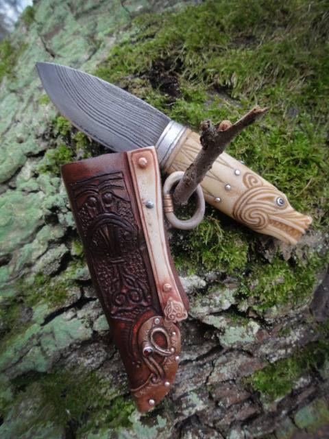 Beorning neck knife by Gullinbursti