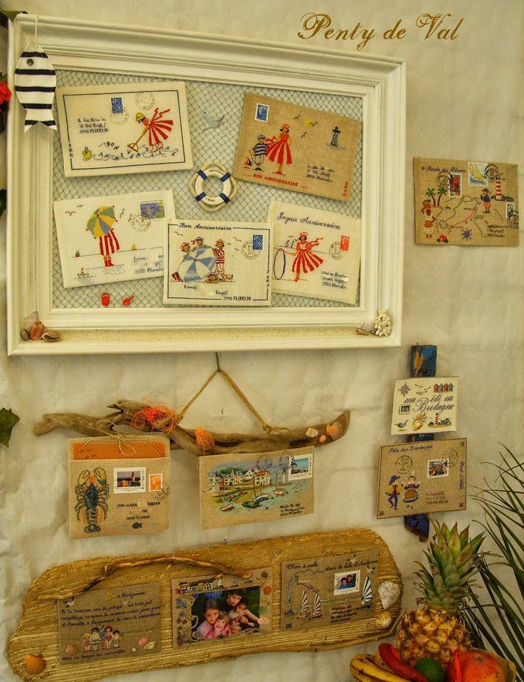 Point de croix Plomelin courrier Bretagne