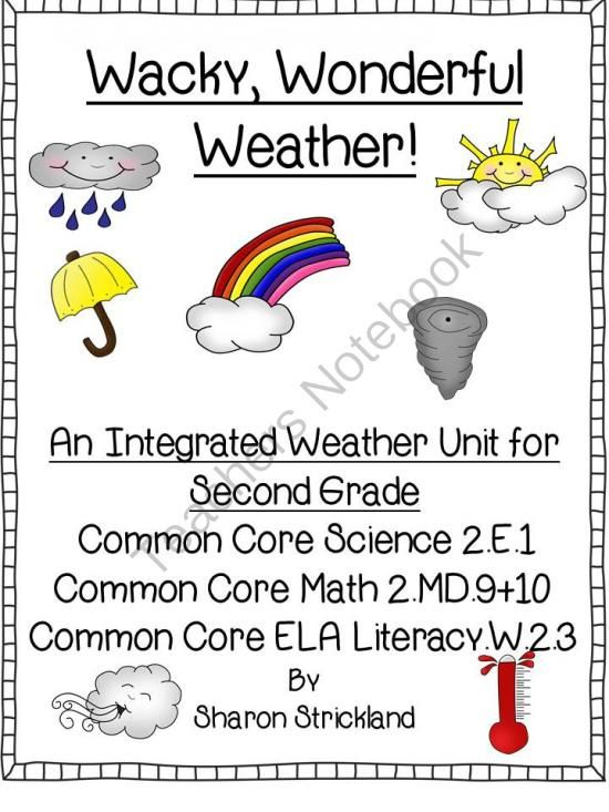 Second Grade Science-Common Core Aligned Weather Unit from Super Second Grade Smarties on TeachersNotebook.com (28 pages)  - Second Grade Science-Common Core Aligned Weather  Unit