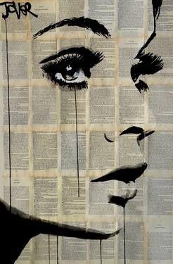 """Saatchi Art Artist Loui Jover; Drawing, """"nightingale"""" #art"""