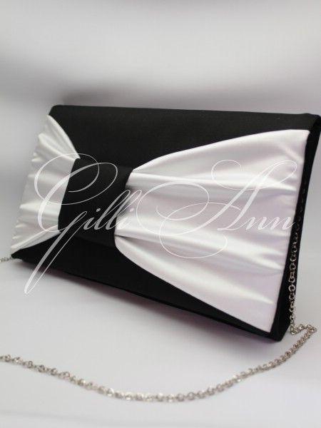 Вечерняя сумочка клатч Gilliann Black and White EVA053, http://www.wedstyle.su/katalog/bride/vsum/vechernjaja-sumochka-klatch-gilliann-brittney-1921, http://www.wedstyle.su/katalog/bride/vsum, evening bag, clutch