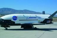 I'm BAAACCKKKK!  Air Force's Secret X-37B Space Plane Lands in California   Space.com  http://www.space.com/16110-secret-x37b-space-plane-landing.html#