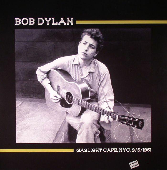 Bob DYLAN - Gaslight Cafe, NYC, 9/6/1961 (Jambalaya)