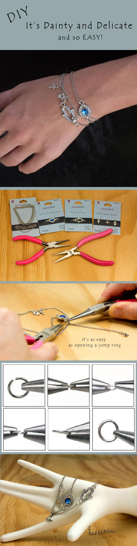 DIY Dainty Delicate Wrap Jewelry
