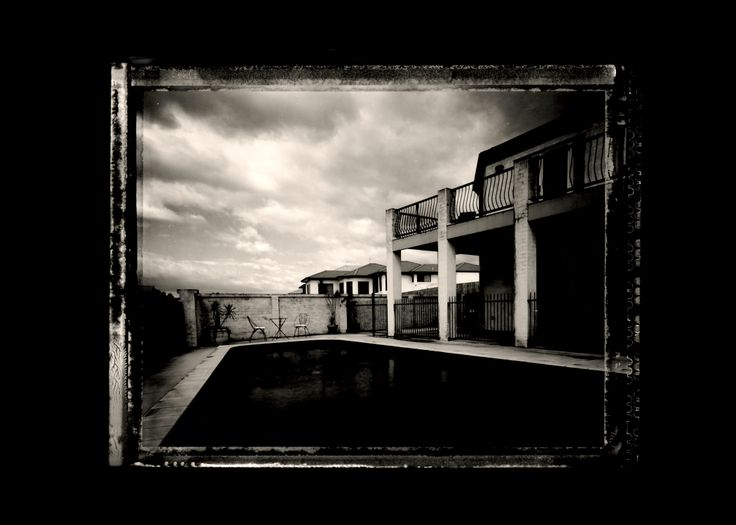 Our House - Polaroid Type 55 PN film.