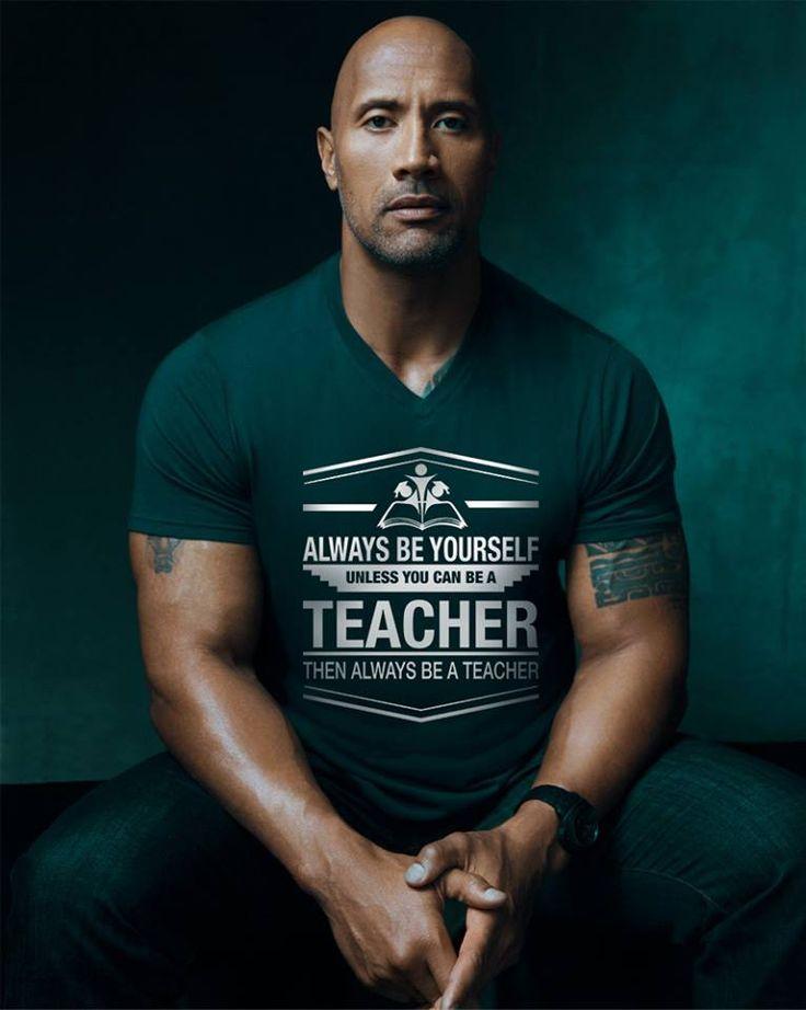 The Rock loves teachers ❤️