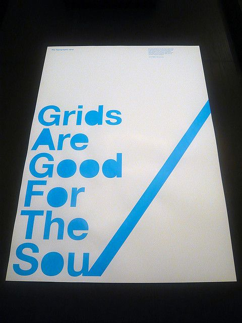 Grids Are Good For The Soul Poster | Flickr - Photo Sharing!