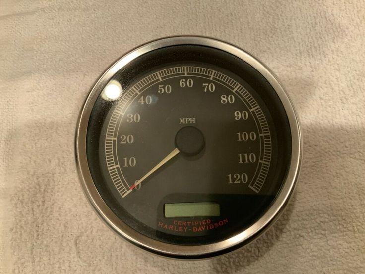 Harley oem softailroad king wideglide speedometer 10k