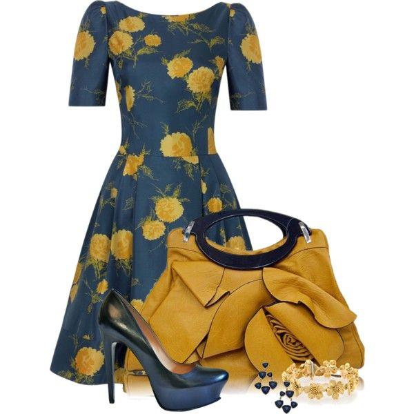 Springtime Elegance by happygirljlc on Polyvore featuring moda, Premiata, Tiffany & Co. and Blu Bijoux