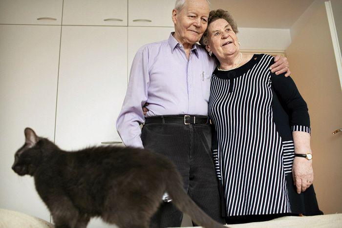 Liisa ja Toivo Vänskän mielestä anteeksianto on ehdottoman tärkeää parisuhteessa.