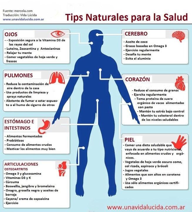 Tips de salud natural.