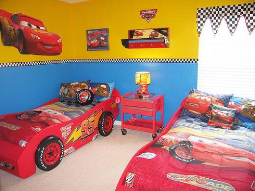Children's Cartoon Cars Bedding Ideas: Children's Cartoon Cars Bedding Ideas