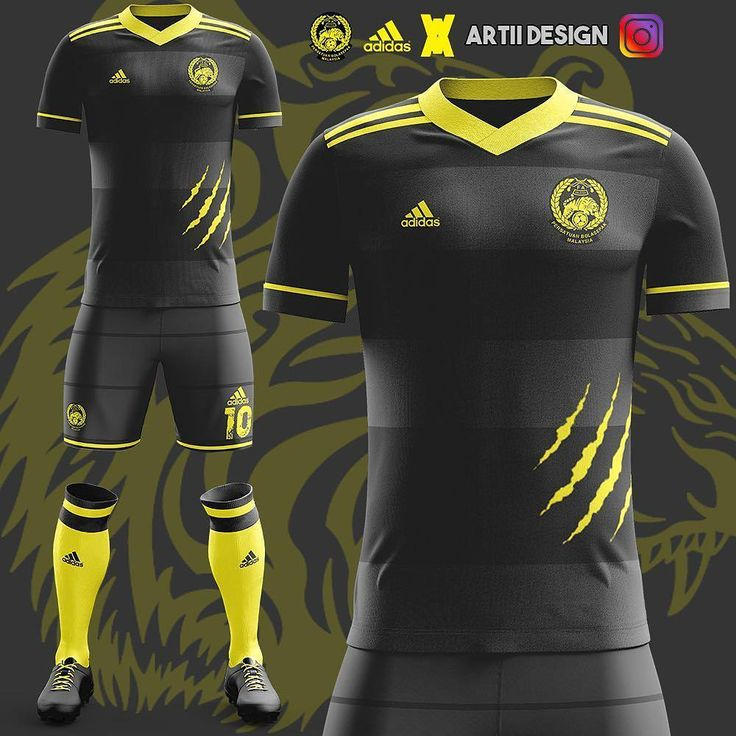 """1,661 Likes, 29 Comments - Memes Football Malaysia (@memes.bola) on Instagram: """"Home kit for Malayan Tiger?When our national team jersey will be like this?We should be creative in…"""""""