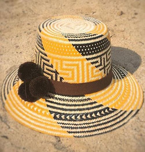 WAYUU Hat Yellow-Black