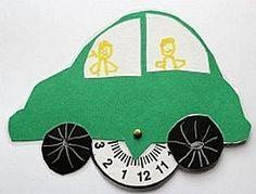 Parkeerschijf voor auto -- categorie: Vaderdag