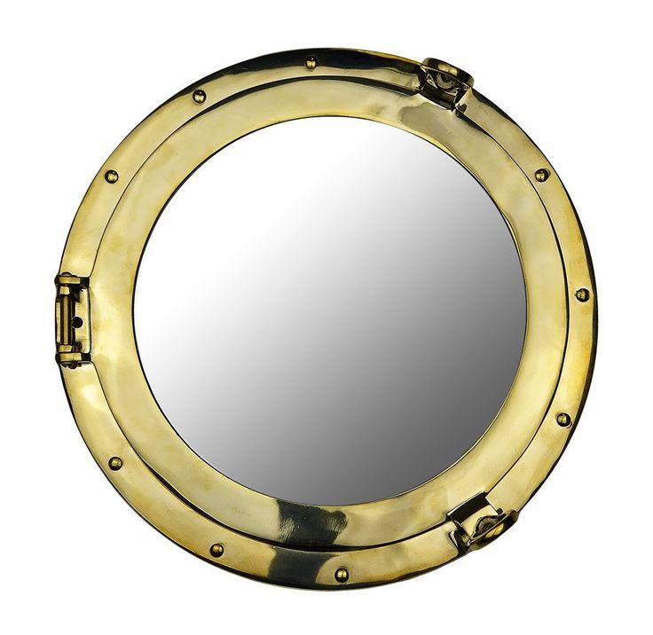 ca porthole ship home kitchen mirror dp nautical decor wall amazon