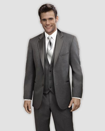 Best 25  Dark grey tuxedo ideas on Pinterest | Grey suits for ...