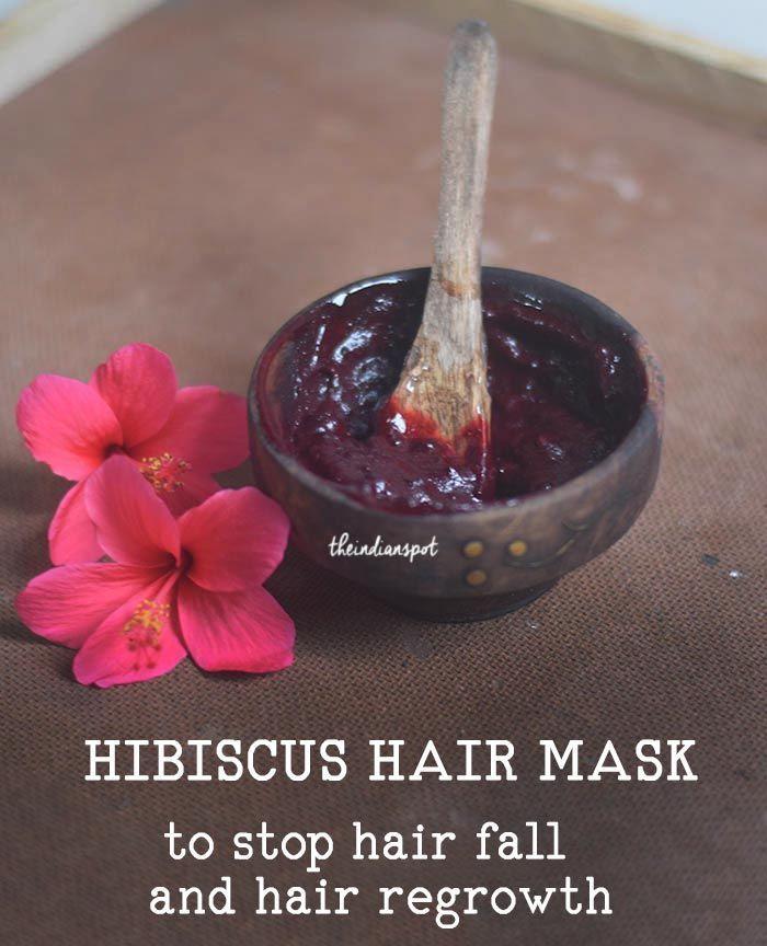 Diy Hibiscus Hair Mask Reduce Hair Fall Grey Hair Naturally Reduce Hair Fall Hair Mask Fall Hair