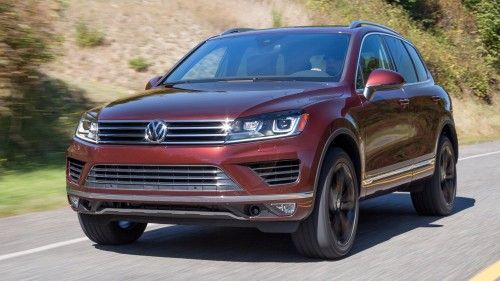 VW USA to reportedly drop Touareg for 2018