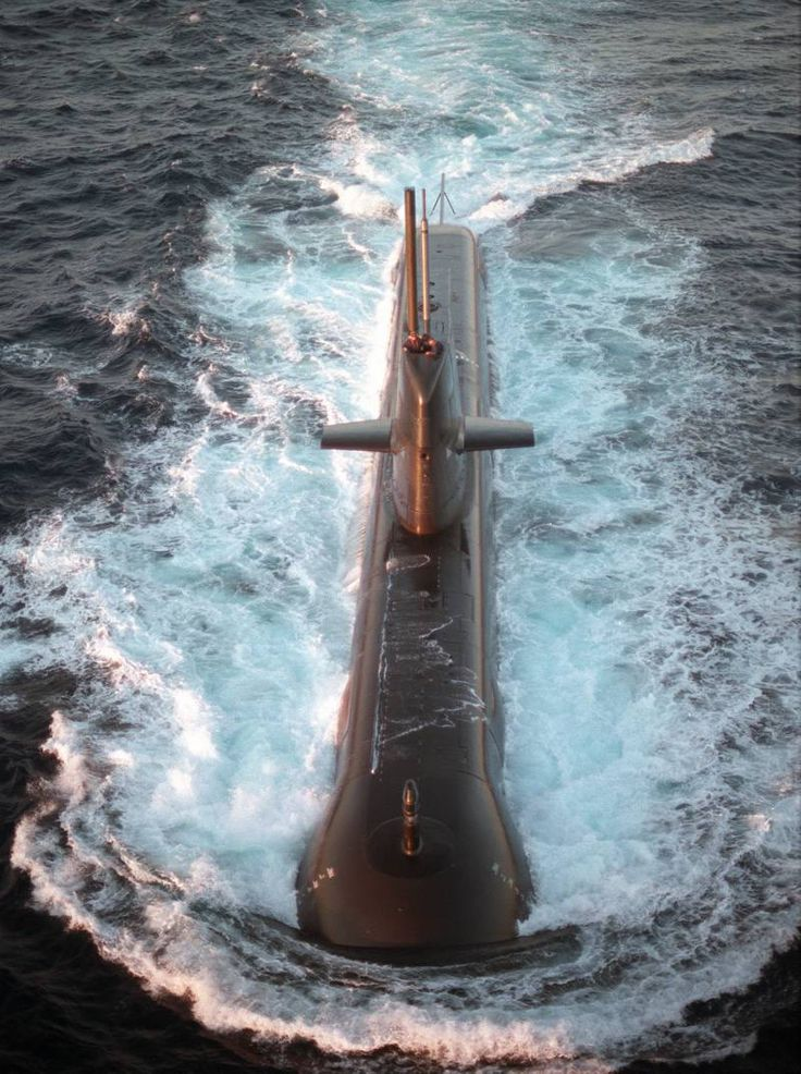 Royal Australian Navy Collins class submarine HMAS Farncomb.
