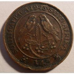 Quarter Penny - South Africa - 1943 for R0.99