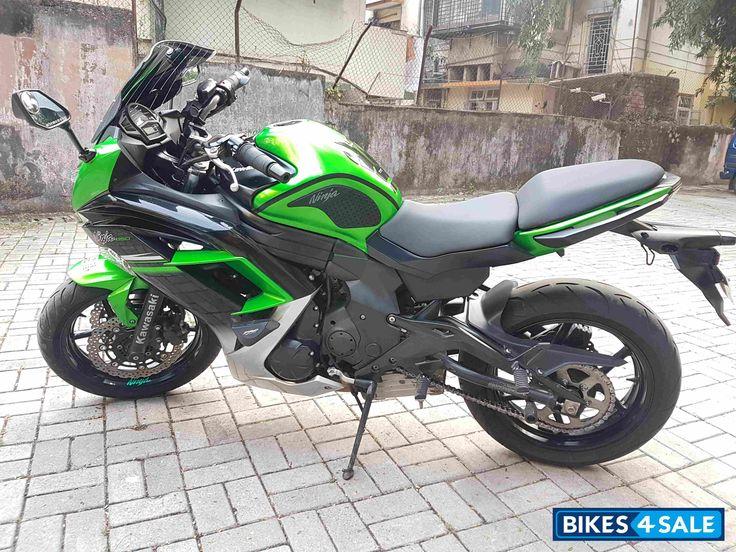 Green Kawasaki Ninja 650R