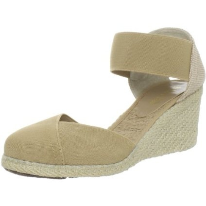 Classic espadrille with a twist.