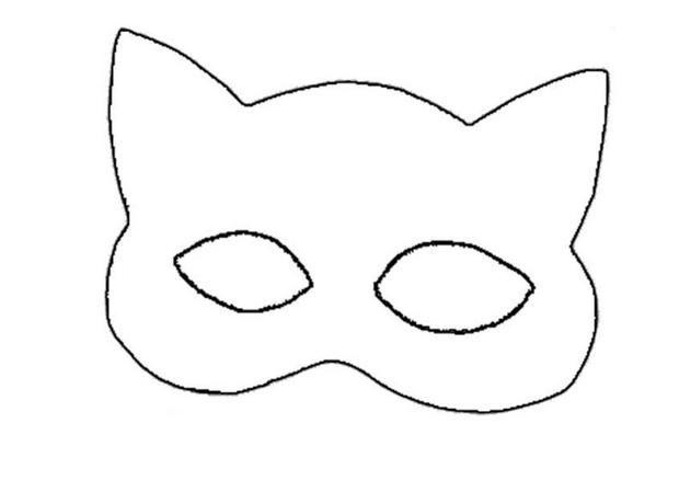 Wild cat mask