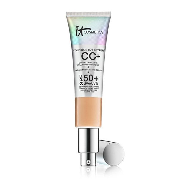 This CC cream gives you an even skin tone and illuminates your face—but the best part is it's also good for your skin. Your Skin But Better CC Cream with SPF 50+, It Cosmetics $3 The Best-Selling Beauty Products At Ulta | The Zoe Report