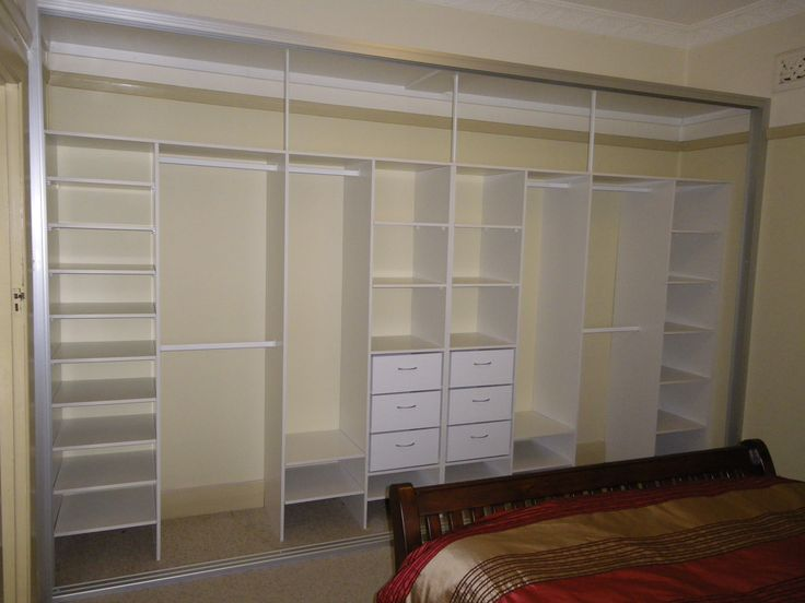 build in wardrobe layout - Google Search