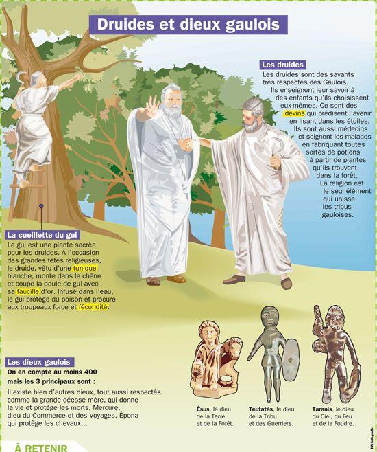 Druides et dieux gaulois
