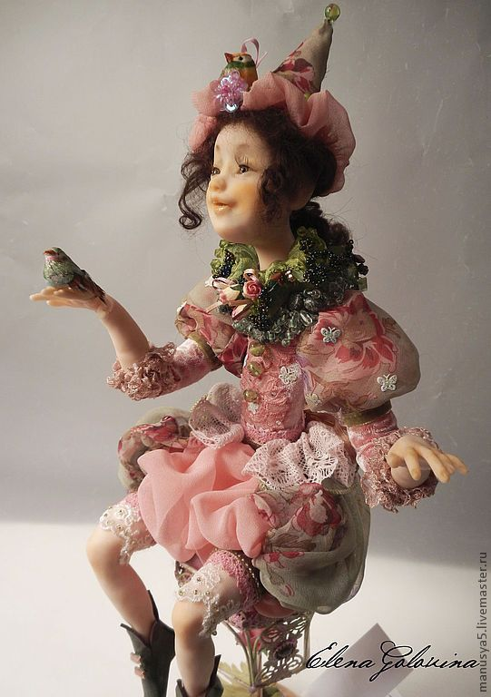how to make polymer clay dolls