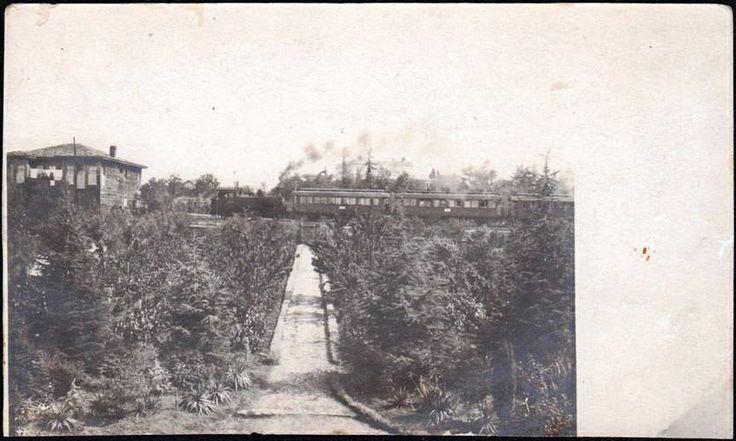 1917 Göztepe Erenköy arası.
