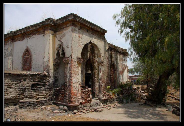 Parte de la hacienda de El Buro de Oro. Vistahermosa, Michoacan.